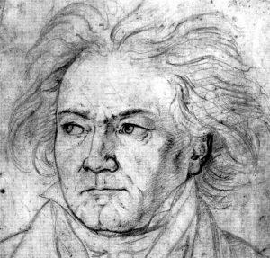 Pencil drawing 1818 by August von Kloeber (1793-1864)
