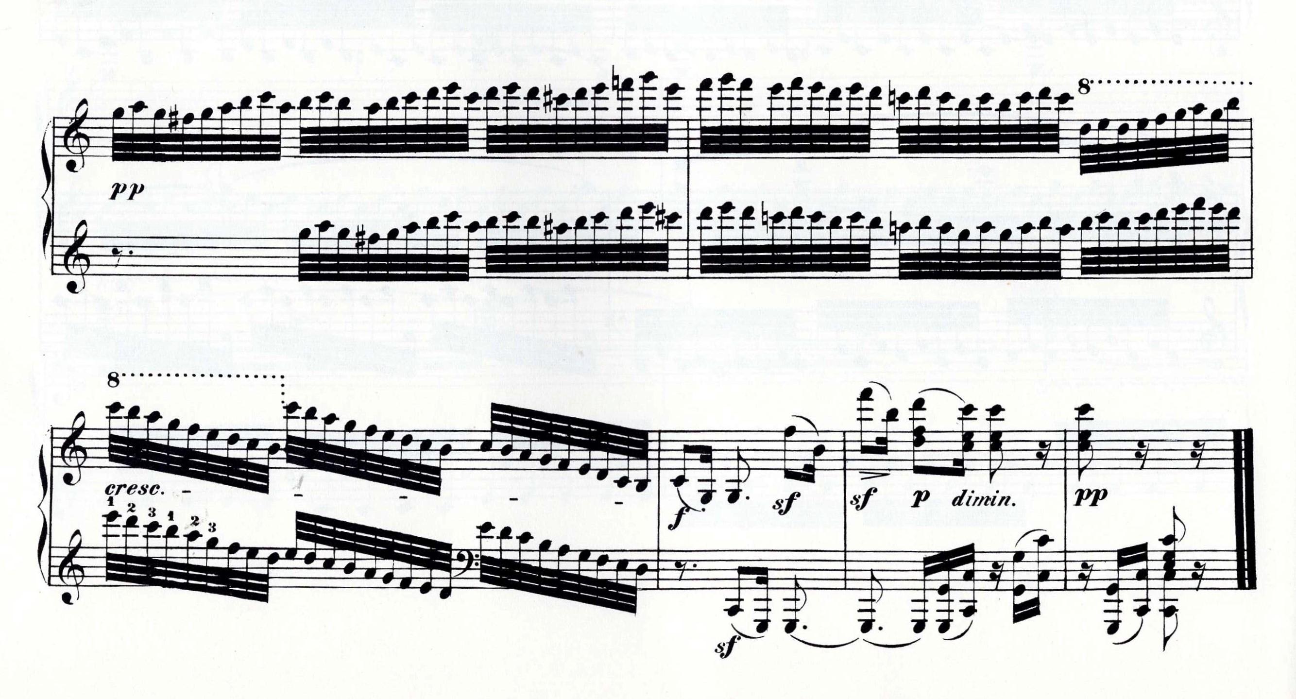 Op.111 closing bars.