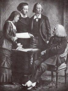 Liszt and pupils
